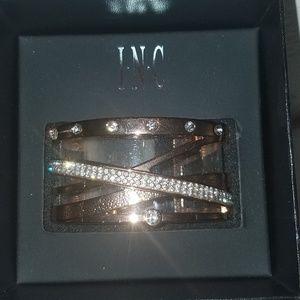 I.N.C. criss cross cuff bracelet